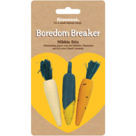 Rosewood Boredom Breaker Nibble Stix Pack of 3
