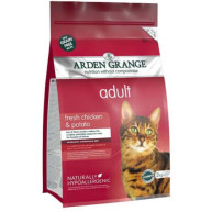Arden Grange Chicken & Potato Cereal Free Adult Cat Food 2kg