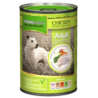 Natures Menu Chicken with Vegetables Adult Dog Food Cans 400g x 12