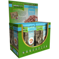 Natures Menu Chicken Salmon & Cod Senior Cat Food Pouches 100g x 12
