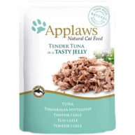 Applaws Tuna In Jelly Pouch Adult Cat Food 70g x 16