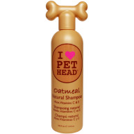 Pet Head Natural Oatmeal Dog Shampoo 355ml