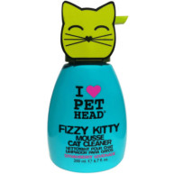 Pet Head Fizzy Kitty Mousse Cat Cleaner Foam Shampoo