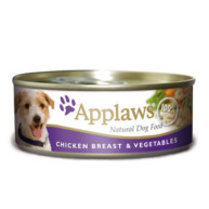Applaws Chicken & Vegetables Wet Can Adult Dog Food 156g x 12