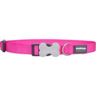 Red Dingo Dog Collar Classic Hot Pink