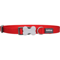 Red Dingo Dog Collar Classic Red  Large