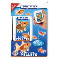 King British Gold Fish Easy Clicker Feeders