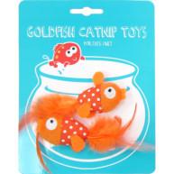 Happy Goldfish Catnip Toy