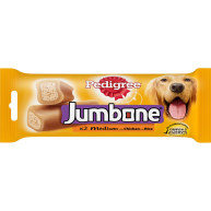 Pedigree Jumbone Adult Dog Treat 2 x Medium Chicken