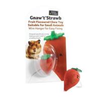 Sharples Pet Gnaw T Strawb for Small Animals 5cm