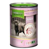 Natures Menu Junior Chicken & Turkey Puppy Food Cans 400g x 12