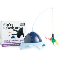 Sharples Pet Ruff n Tumble Fly n Feather Cat Toy