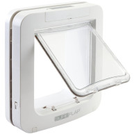 Sureflap Large Microchip Pet Door Cats & Small Dogs White