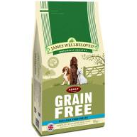 James Wellbeloved Grain Free Fish & Vegetables Adult Dog Food 10kg x 2