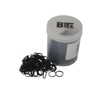 Bitz Plaiting Bands Black