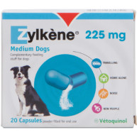 Zylkene Dog & Cat Calming Capsules 225mg - Dogs 10 to 20kg x 20