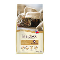 Burgess Complete Chicken & Duck Adult Cat Food 10kg