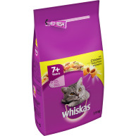 Whiskas 7+ Chicken Dry Senior Cat Food 1.9kg