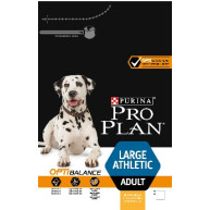 PRO PLAN OPTIBALANCE Chicken Large Athletic Adult Dog Food 14kg x 2