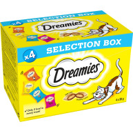 Dreamies Cat Treats Selection Box 30g x 4