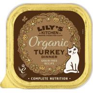 Lilys Kitchen Organic Turkey Dinner Complete Wet Cat Food  85g x 19