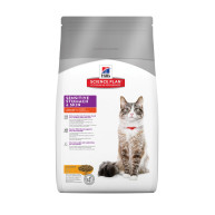 Hills Science Plan Feline Adult Sensitive Stomach & Skin with Chicken