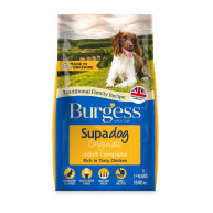 Burgess Supadog Complete Chicken Adult Dog Food  15kg