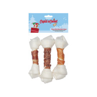 Rosewood Cupid & Comet Three Bird Rawhide Roast for Dogs 195g