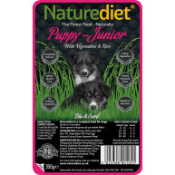 Naturediet Chicken & Lamb Puppy Junior Food 390g x 72