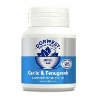Dorwest Veterinary Garlic & Fenugreek Tablets