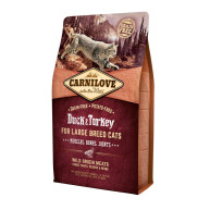 Carnilove Large Breed Duck & Turkey Adult Cat Food for Muscles, Bones & Joints 6kg