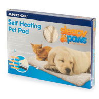 Ancol Sleepy Paws Self Heating Pet Mat Large 90x64cm