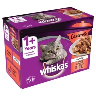 Whiskas 1+ Casserole Meaty Selection in Jelly Adult Cat Food