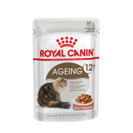 Royal Canin Health Nutrition Ageing +12 Pouches Cat Food 85g x 12