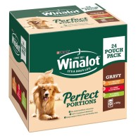 Winalot Perfect Portions Multipack Wet Adult Dog Food
