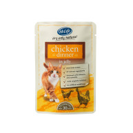 HiLife Its Only Natural Chicken Dinner in Jelly Adult Cat Food 70g x 18