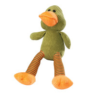 House Of Paws Noisy Duck Cord Dog Toy