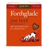 Forthglade Just Beef Dog Food 395g x 18
