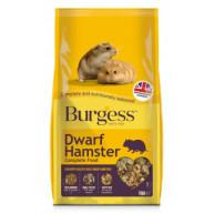 Burgess Complete Dwarf Hamster Harvest Food