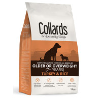 Collards Turkey & Rice Senior & Light Dog Food 10kg