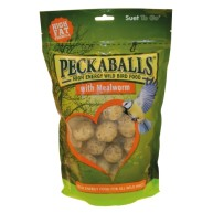 Suet to Go Mealworm Peckaballs Wild Bird Food 1kg