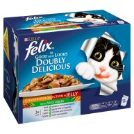 Felix As Good As It Looks Doubly Delicious Countryside Selection Wet Adult Cat Food