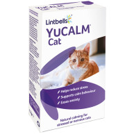 Lintbells Yucalm Cat Calming Supplement Capsules