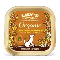 Lilys Kitchen Organic Chicken & Spelt Supper Dog Food 150g x 11