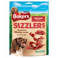Bakers Sizzlers Bacon Dog Treats Bacon 120g