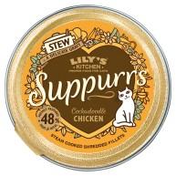 Lilys Kitchen Suppurrs Cockadoodle Chicken Stew Wet Cat Food