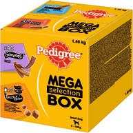 Pedigree Mixed Variety Selection Box Small Dog Treats