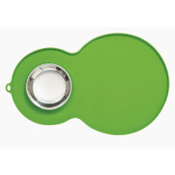 Catit Non Slip Peanut Placemat with Bowl