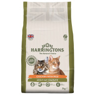 Harringtons Complete Chicken with Rice Cat Food