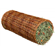 Trixie Hay Wicker Tunnel for Small Pets